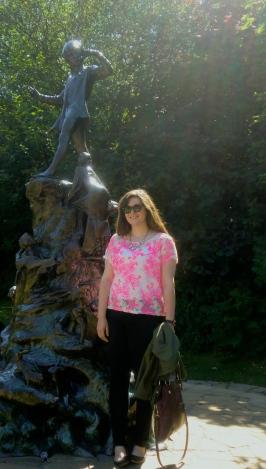 Peter Pan statue in Kensington Gardens